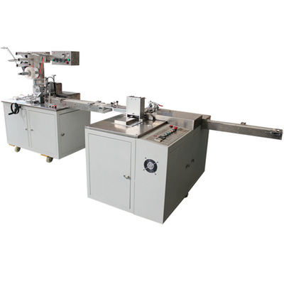 Eraser Paper Sleeve Packing Machine with Cellophane Overwrapping Machine Production Line